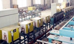 induction quenching line